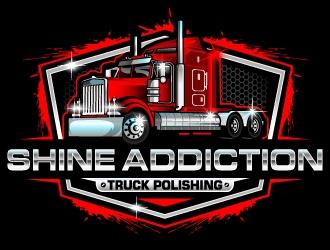 SHINE ADDICTION logo design