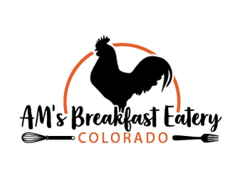 AMs Breakfast Eatery logo design winner