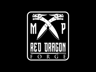 Red Dragon Forge logo design