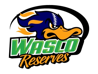 Wasco Reserves logo design