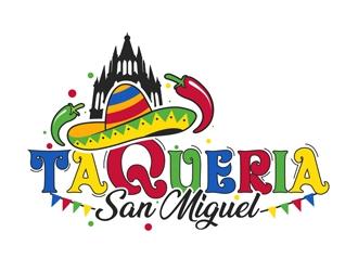 Taqueria San Miguel  logo design