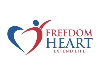 FREEDOM HEART logo design winner
