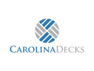 Carolina Decks logo design