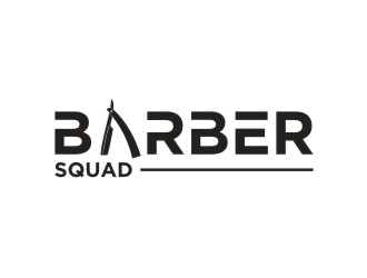Barber Squad logo design winner