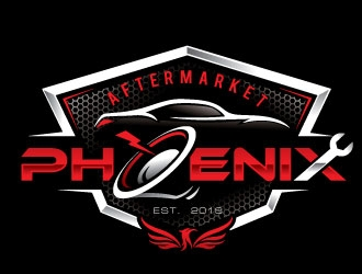 Aftermarket Phoenix  logo design winner