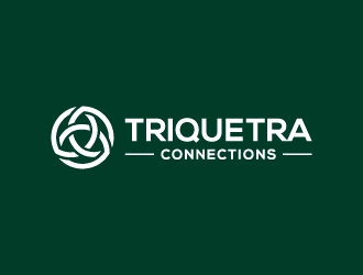 Triquetra Connections logo design