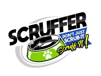 Scruffer  logo design winner
