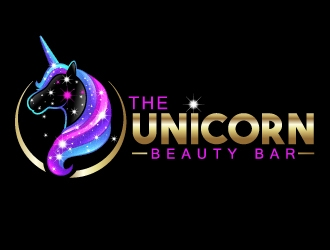 The Unicorn Beauty Bar logo design