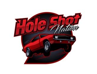 Hole Shot Nation logo design