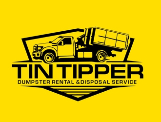 Tin Tipper logo design