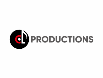 CL Productions logo design
