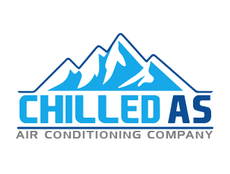 Chilled As logo design