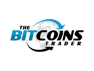 THE BITCOINS TRADERS logo design