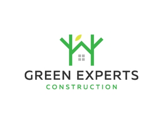 Green Experts Construction logo design