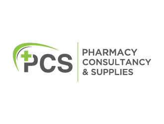 Pharmacy Consultancy & Supplies logo design