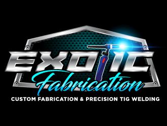 Exotic Fabrication logo design