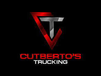 Cutberto's Trucking logo design