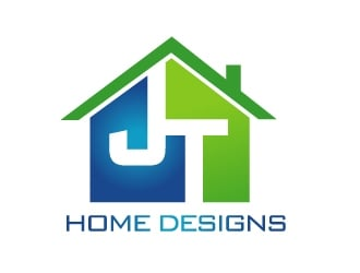 JT Home Designs logo design
