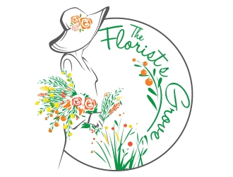 The Florist's Grove logo design