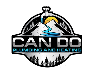Can Do Plumbing and Heating logo design