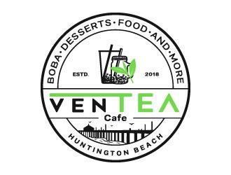 Ventea Cafe logo design by DesignPal