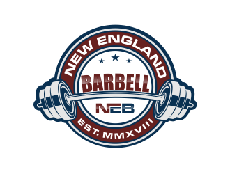 New England Barbell logo design