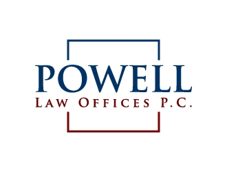 Powell Law Offices, P.C. logo design