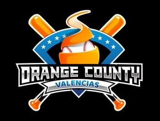 Orange County Valencias logo design