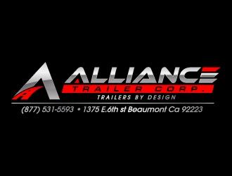 Alliance Trailer Corp.  logo design