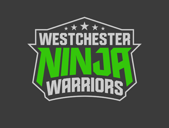 Westchester Ninja Warriors logo design