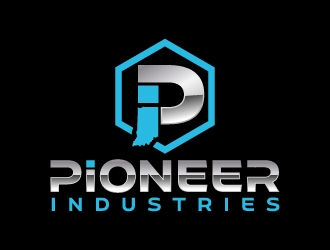 Pioneer Industries logo design