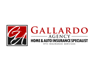 GALLARDO AGENCY logo design