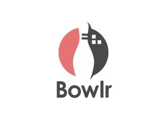 Bowlr logo design