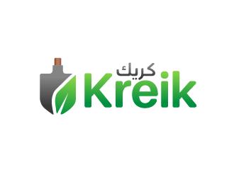 Kreik logo design