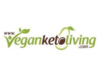 www.veganketoliving.com logo design