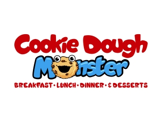 COOKIE DOUGH MONSTER logo design