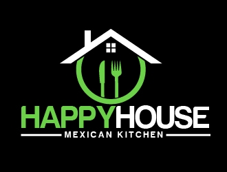 HAPPY HOUSE KITCHEN logo design