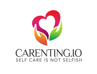 carenting.io / slogan: Self Care is Not Selfish logo design