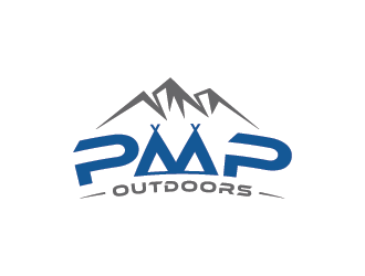 PMP Outdoors logo design