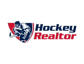 Hockey Realtor logo design