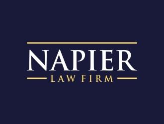 Napier Law Firm logo design by excelentlogo