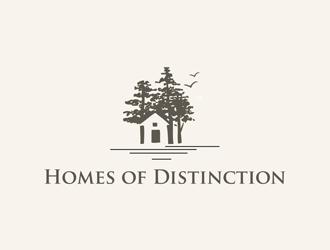 Homes of Distiction logo design