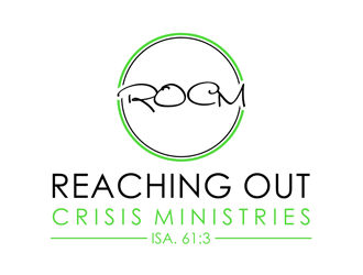 Reaching Out Crisis Ministries logo design