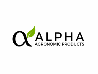Alpha Agronomic Products logo design