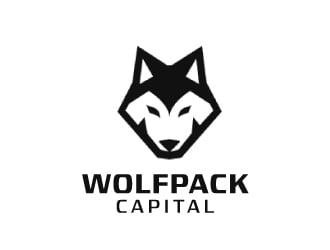 Wolfpack Capital LLC logo design