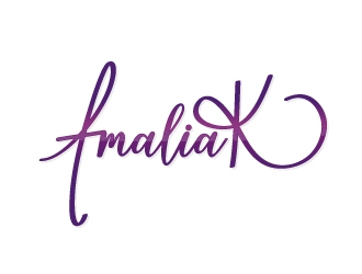 AmaliaK Designs logo design