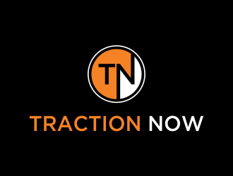 Traction Now logo design