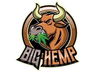 Big hemp logo design