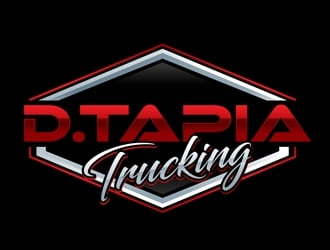 D.Tapia Trucking  logo design