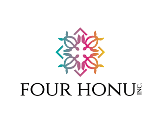 Four Honu Inc. logo design